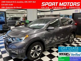 Used 2018 Honda CR-V LX+AWD+Remote Start+Camera+ApplePlay+AccidentFree for sale in London, ON