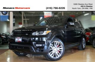 Used 2015 Land Rover Range Rover Sport V8 SC DYNAMIC - 510HP|7 PASSENGER|FULLY LOADED for sale in North York, ON
