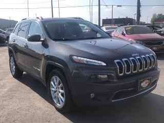 Used 2015 Jeep Cherokee LIMITED*NAV*BACKUP CAM*PARK ASSIST*LOADED for sale in London, ON