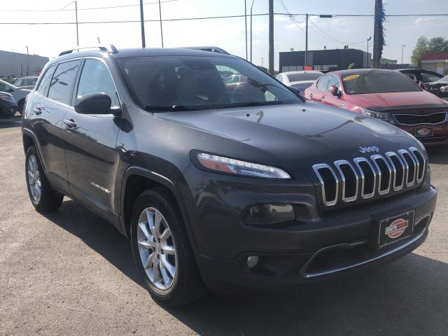 2015 Jeep Cherokee LIMITED*NAV*BACKUP CAM*PARK ASSIST*LOADED