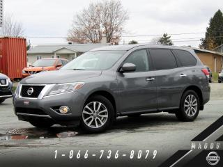 Used 2015 Nissan Pathfinder S 4WD + 7 PASSAGERS + MAGS + CLIMATISEUR for sale in Magog, QC