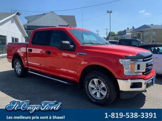 Used 2018 Ford F-150 XLT SuperCrew 4RM caisse de 5,5 pi for sale in Shawinigan, QC