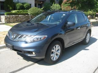 Used 2012 Nissan Murano PLATINUM, NEW TIRES, NO ACCIDENTS, CERTIFIED for sale in Toronto, ON
