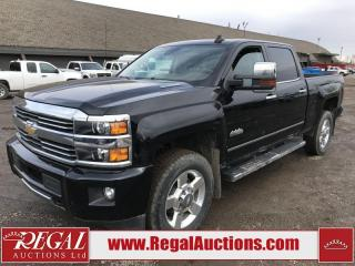 Used 2016 Chevrolet SILVERADO 2500 HIGH COUNTRY CREW CAB 4WD 6.6L for sale in Calgary, AB