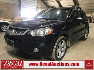 Used 2007 Acura RDX 4D Utility AWD for sale in Calgary, AB