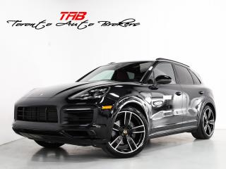 Used 2019 Porsche Cayenne E-HYBRID I RED LEATHR I PANO I 22 IN for sale in Vaughan, ON