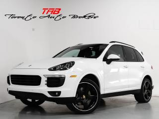 Used 2017 Porsche Cayenne I PLATINUM EDITION I PANO I 21 INCH WHEELS for sale in Vaughan, ON