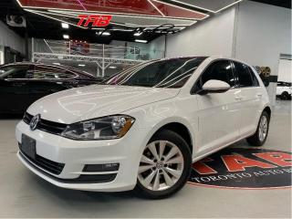 Used 2015 Volkswagen Golf 1.8 TSI I 5 SPEED I CAM I LEATHER I SUNROOF I COMI for sale in Vaughan, ON