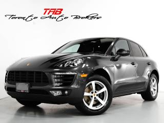 Used 2017 Porsche Macan I APPLE CARPLAY I 1-OWNER I CLEAN CARFAX for sale in Vaughan, ON