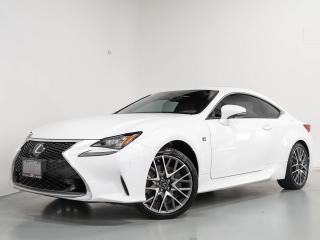 Used 2016 Lexus RC 350 350 COUPE I FSPORT I NAVI I CAM I SUNROOF for sale in Vaughan, ON