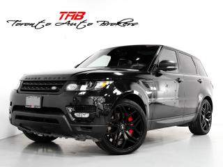 Used 2017 Land Rover Range Rover Sport V8 SC I DYNAMIC I PANO I NAVI I 22 INCH WHEELS for sale in Vaughan, ON