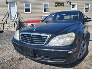 Used 2004 Mercedes-Benz S-Class S500 for sale in Stittsville, ON