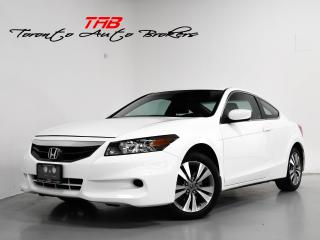 Used 2011 Honda Accord Coupe I COUPE | EX-L | SUNROOF | LOCAL VEHICLE for sale in Vaughan, ON