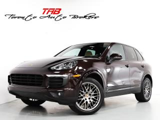 Used 2017 Porsche Cayenne I PLATINUM EDITION I PANO I 20 I INCH WHEELS for sale in Vaughan, ON