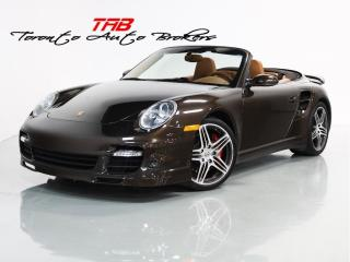 Used 2008 Porsche 911 TURBO | CABRIOLET | 6 SPEED | SPORTS CHRONO for sale in Vaughan, ON