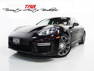 Used 2016 Porsche Panamera TURBO | PREMIUM PKG.| SPORTS CHRONO | NAVI for sale in Vaughan, ON