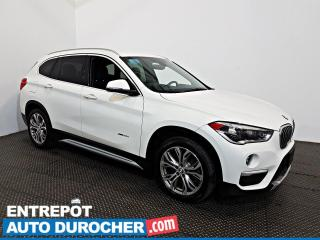Used 2016 BMW X1 XDrive28i AWD AIR CLIMATISÉ - Caméra de Recul for sale in Laval, QC