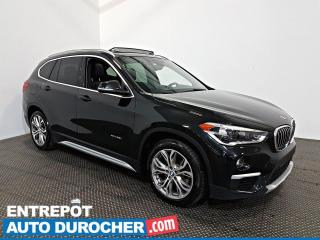 Used 2016 BMW X1 XDrive28i AWD NAVIGATION - Toit Ouvrant  A/C  CUIR for sale in Laval, QC