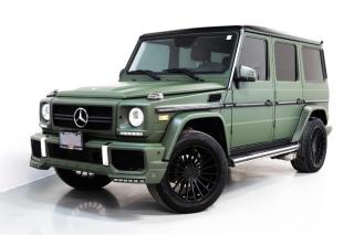 Used 2013 Mercedes-Benz G-Class G550 | BRABUS PKG. | DESIGNO | NAVI for sale in Vaughan, ON