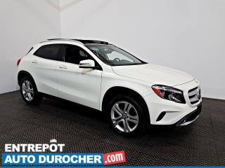 Used 2017 Mercedes-Benz GLA GLA 250 AWD NAVIGATION - Toit Ouvrant - A/C - Cuir for sale in Laval, QC