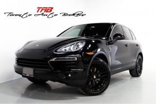 Used 2013 Porsche Cayenne DIESEL | SPORT CHRONO | NAVI | 20 INCH WHEELS for sale in Vaughan, ON