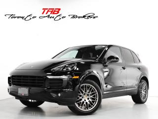 Used 2017 Porsche Cayenne I PLATINUM EDITION | NAVI | PANO | COMPASS BOSE for sale in Vaughan, ON