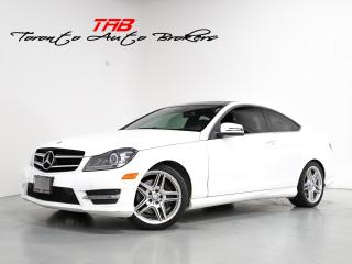 Used 2015 Mercedes-Benz C-Class C350 COUPE I AMG I NAVI I PANO I DRIVE ASSIST for sale in Vaughan, ON