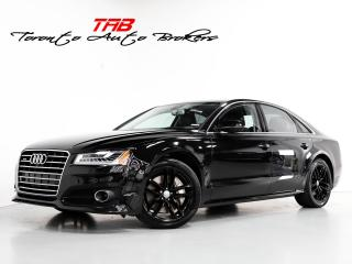 Used 2017 Audi A8 4.0T I HEADS UP I LOW KM I BLIND SPOT I NAVI for sale in Vaughan, ON