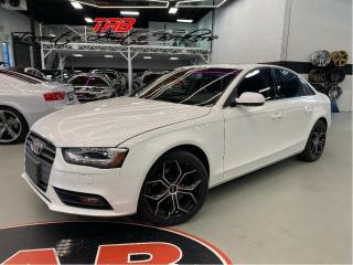Used 2013 Audi A4 2.OT I COMING SOON I NAVI I CLEAN CARFAX for sale in Vaughan, ON