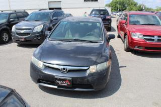 Used 2008 Honda Civic 1.8L LX Manual for sale in Whitby, ON