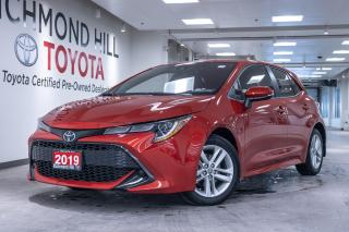 Used 2019 Toyota Corolla Hatchback CVT  - $91.56 /Wk for sale in Richmond Hill, ON
