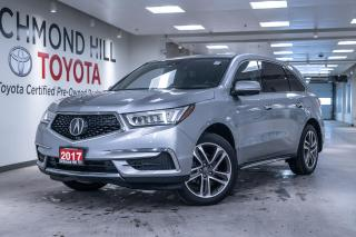 Used 2017 Acura MDX Navigation  - Navigation -  Sunroof for sale in Richmond Hill, ON