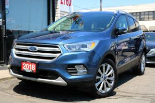 Used 2018 Ford Escape Titanium 2.0T, Navi, Cam, Leather, Auto Park, Sony Sound, for sale in North York, ON