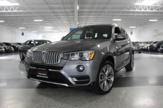 Used 2016 BMW X3 xDRIVE 28i I NAVIGATION I REAR CAM I PANOROOF I LEATHER I BT for sale in Mississauga, ON
