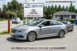 Used 2015 Hyundai Sonata SPORT Auto, Pano Roof, Leather, Heated Steering Wheel, Load for sale in Surrey, BC