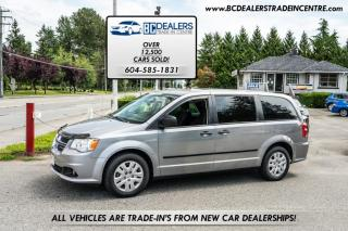Used 2014 Dodge Grand Caravan Only 80,000km's, New Bodystyle, Local, No Accidents, Clean! for sale in Surrey, BC
