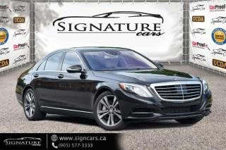 Used 2016 Mercedes-Benz S-Class 4dr Sdn S550 4MATIC SWB NAVI. PANO ROOF. LUXURY! for sale in Mississauga, ON