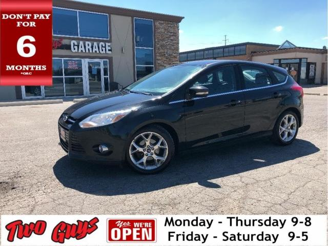 2012 Ford Focus SEL | Auto | Sony | Htd Seats | Trade In | SYNC