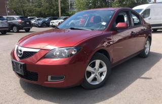 Used 2009 Mazda MAZDA3 4dr Sdn 1 YEAR ENGINE/TRANSMISSION WARRANTY INCLUDED for sale in Brampton, ON