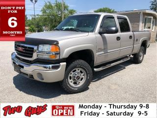 Used 2004 GMC Sierra 2500 HD Crew Cab 153  WB 4WD SL Nice Local Trade In! for sale in St Catharines, ON