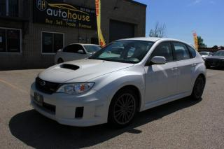 Used 2014 Subaru WRX MANUAL,WRX , AWD,WHITE ON BLACK,NEW SUMMER&WINTER TIRES for sale in Newmarket, ON