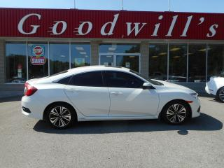 Used 2016 Honda Civic Sedan EX-T! HEATED SEATS! ADPT CRUISE! REMOTE START! for sale in Aylmer, ON