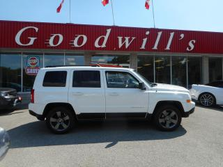 Used 2015 Jeep Patriot HIGH ALTITUDE! HEATED LEATHER! NAV! B/TOOTH! ROOF! for sale in Aylmer, ON