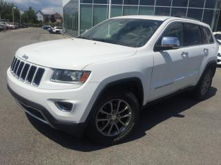 Used 2014 Jeep Grand Cherokee 4WD LIMITED for sale in St-Eustache, QC