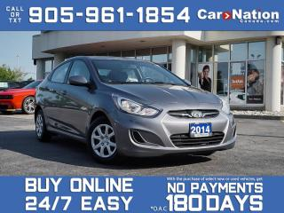 Used 2014 Hyundai Accent GL| LOCAL TRADE| HEATED SEATS| for sale in Burlington, ON