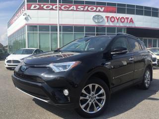 Used 2016 Toyota RAV4 Hybrid LIMITED HYBRID **CUIR/TOIT/GPS** for sale in St-Eustache, QC