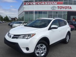 Used 2015 Toyota RAV4 LE AWD **CAMÉRA RECUL** for sale in St-Eustache, QC