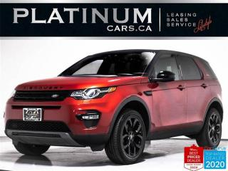 Used 2018 Land Rover Discovery Sport HSE, AWD, NAV, PANO, CAM, HEATED STEERING WHEEL for sale in Toronto, ON