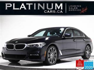 Used 2017 BMW 5 Series 540i xDrive, M - SPORT, NAV, SUNROOF, HEATED, BT for sale in Toronto, ON