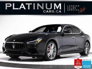 Used 2018 Maserati Ghibli SQ4 GranSport, 404HP, AWD, NAV, CAM, VENTILATED for sale in Toronto, ON